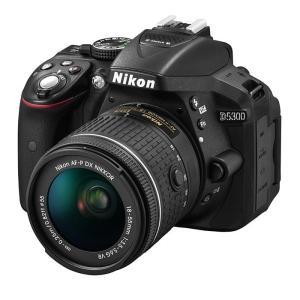 《新品》Nikon(ニコン) D5300 AF-P 18-55 VR レンズキット ブラック ymapcamera