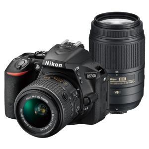 《新品》 Nikon (ニコン) D5500 ダブルズームキット ブラック