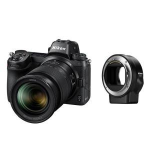 《新品》 Nikon (ニコン) Z6 24-70 + FTZマウントアダプターキット【発売記念キャンペーン対象/プレミアムシルバーストラップ プレゼント】|ymapcamera
