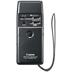 《新品アクセサリー》 Canon(キヤノン) ワイヤレスコントローラー LC-5〔メーカー取寄品〕|ymapcamera