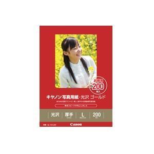 《新品アクセサリー》 Canon(キヤノン) キヤノン写真用紙・光沢ゴールドL判200枚(GL-101L200)|ymapcamera