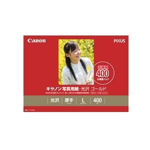 《新品アクセサリー》 Canon 写真用紙・光沢 ゴールド L判 400枚 (GL-101L400)|ymapcamera