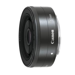 《新品》 Canon(キヤノン) EF-M22mm F2 STM ブラック|ymapcamera