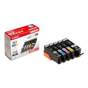 《新品アクセサリー》 Canon インクタンク BCI-351XL(BK/C/M/Y)+350XL 大容量タイプ 5色マルチパック
