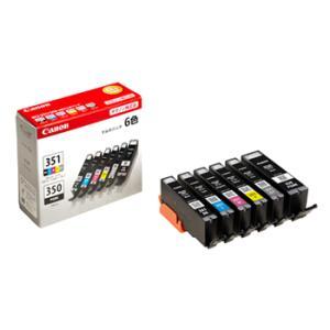 《新品アクセサリー》 Canon インクタンク BCI-351(BK/C/M/Y/GY)+350 6色マルチパック|ymapcamera