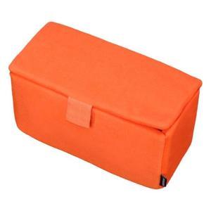 《新品アクセサリー》 HAKUBA (ハクバ) インナーソフトボックス 300 オレンジ|ymapcamera