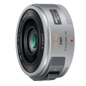 《新品》 Panasonic (パナソニック) LUMIX G X VARIO PZ 14-42mm F3.5-5.6 ASPH. POWER O.I.S. シルバー|ymapcamera