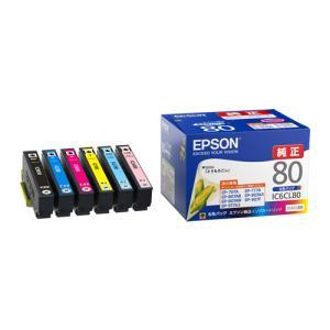 《新品アクセサリー》 EPSON (エプソン) インクカートリッジ 6色セット IC6CL80|ymapcamera