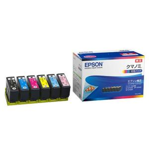 《新品アクセサリー》 EPSON (エプソン) インクカートリッジ クマノミ 6色セット KUI-6CL|ymapcamera