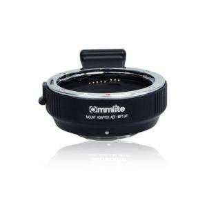《新品アクセサリー》 Commlite(コムライト) マウントアダプター キヤノンEF/MFT用 AF 電子接点付き CM-AEF-MFT|ymapcamera