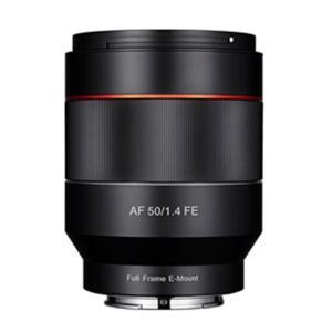 《新品》 SAMYANG (サムヤン) AF 50mm F1.4 (ソニーE用/フルサイズ対応)|ymapcamera