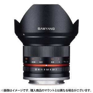【新品】 SAMYANG(サムヤン) 12mm F2.0 NCS CS (フジX用) ブラック|ymapcamera
