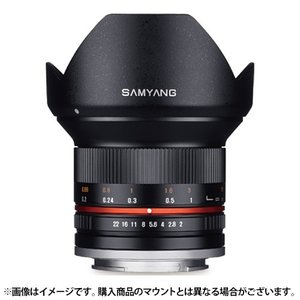 【新品】 SAMYANG(サムヤン) 12mm F2.0 NCS CS (マイクロフォーサーズ用) ブラック|ymapcamera