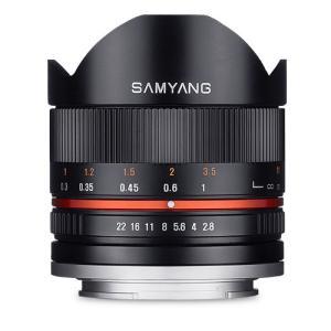 《新品》 SAMYANG(サムヤン) 8mm F2.8 UMC Fish-eye II (ソニーE用) ブラック|ymapcamera