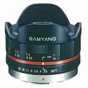 《新品》 SAMYANG(サムヤン) 7.5mm F3.5 フィッシュアイ(マイクロフォーサーズ用)ブラック|ymapcamera