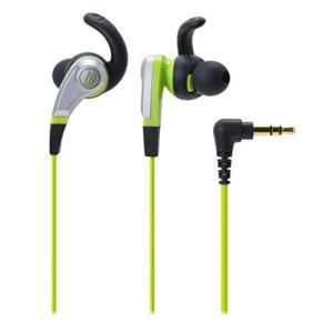 audio-technica SONIC FUEL カナル型イヤホン グリーン ATH-CKX5 GR ymitsp