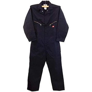 DELUXE COVERALL BLENDED(混紡デラックスツナギ) (LARGE(RG42-44), BK(ブラック))|ymitsp