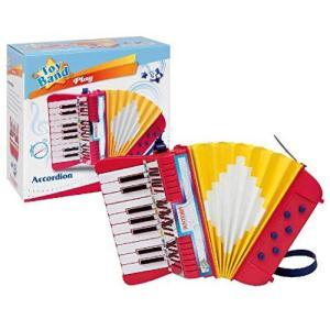 BONTEMPI ボンテンピ 17鍵 アコーディオン 【331780】 楽器 アコーディオン 鍵盤楽器 おもちゃ 知育玩具 こども 男の子 女の子 3 ymitsp