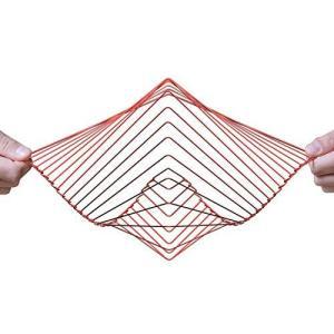 Atellani スクエアウェーブ   魅惑的なキネティックウィンドスピナー   Ivan Blackによるマジカルカルカルカルミングアートピース ( ymitsp