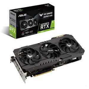 ASUS NVIDIA GeForce RTX 3090 搭載 トリプルファンモデル 24G TUF-RTX3090-24G-GAMING|ymitsp