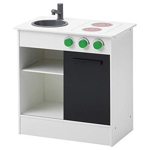 IKEA/イケア NYBAKAD:おままごとキッチン 引き戸付き (503.060.22) ymitsp