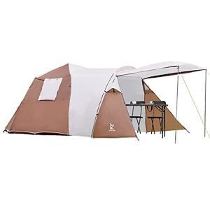 テント 4-6人用 テント ファミリー 家族 ワンタッチ おしゃれ 折りたたみ 簡易テント 簡易 簡単 軽量 uvカット 紫外線 メッシュ 防水|ymitsp