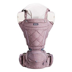 【ベビーアムール】Bebamour 抱っこ紐人気 ベビーキャリア新生児 6way たためるヒップシート 安定性 使いやすさ 前向き抱っこ おんぶ 圧力|ymitsp