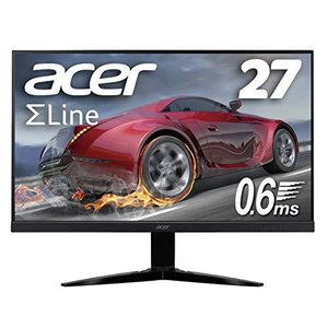 Acer ゲーミングモニター SigmaLine 27インチ KG271Dbmiix 0.6ms(GTG) 75Hz TN FPS向き フルHD Fr|ymitsp