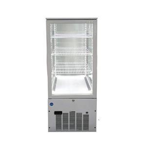 (ジェーシーエム)JCM 4面ガラス冷蔵ショーケース(片面扉)130リットル JCMS-130 幅500×奥行535×高さ1100mm ymitsp