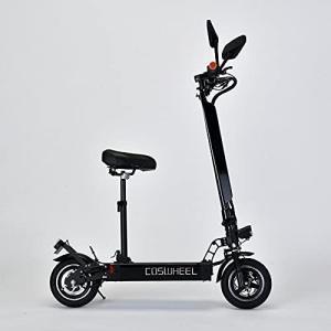 電動スケーター COSWHEEL EV Scooter 公道可 次世代型折り畳み式電動キックボード2WAY乗りEVスクーター 公道走行可 ナンバー取得|ymitsp