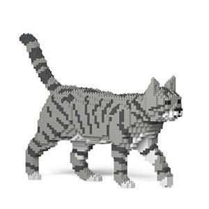 JEKCA ジェッカブロック トラネコ トラ猫 ライトグレー 03S-M03 Sculptor ymitsp