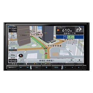 パイオニア カーナビ カロッツェリア 楽ナビ 7型 AVIC-RZ911 無料地図更新/フルセグ/Bluetooth/HDMI/DVD/CD/SD/U|ymitsp