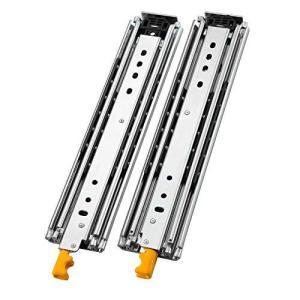 AOLISHENG ロック付 重量用 スライドレール, 引き出しスライド 1000mm 完全な延長 耐荷重200 kg 左右 1セッ ymitsp