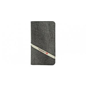 Diesel iPhoneXR ケース 手帳型 DIESEL 2IN1 FOLIO CASE Grey Denim Diagonal Logo|ymobileselection