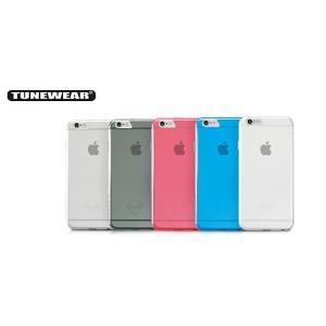 TUNEWEAR eggshell for iPhone 6 スモーク TUN-PH-000304|ymobileselection