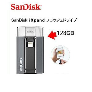 iXpand フラッシュドライブ 128GB SDIX-128G-2JS4E|ymobileselection