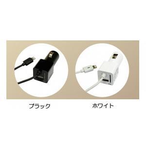 Protek USBポート搭載Lightningカーチャージャー ブラック|ymobileselection