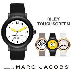 MARC JACOBS RILEY TOUCHSCREEN マークジェイコブス 腕時計 スマートウォッチ MJT2002 ブラック/シリコン...
