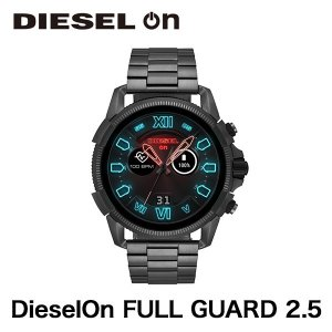 スマートウォッチ DIESEL DieselOn FULL GUARD 2.5 COMBO / BLACK GUNMETAL|ymobileselection