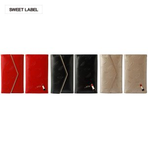 SWEET LABEL Rouge Case for 5inch Smartphone シャンパンゴールド|ymobileselection