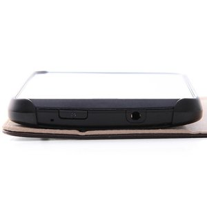 Y!mobile DIGNO C 404KC/S301 ブックレザーケース(合皮)ブラック|ymobileselection