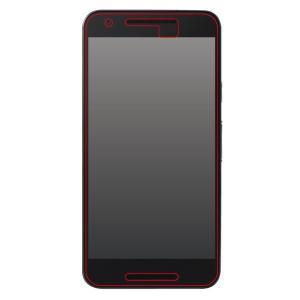 (Google Nexus 5X)高光沢タイプ/5H耐衝撃・光沢・防指紋アクリルコートフィルム 1枚入|ymobileselection
