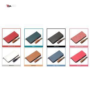 PGA iPhone 8 / 7 / 6s / 6 用 フリップカバー PUレザー ブラック|ymobileselection