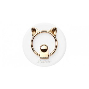 CCCフロンティア CAT SMARTPHONE RING WHITE|ymobileselection