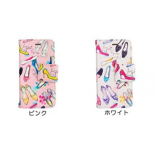 flowering iPhone 8 / 7 / 6s/6 Girls pumps ピンク|ymobileselection