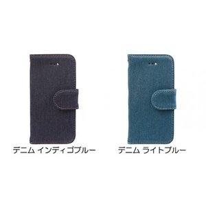 Owltech iPhone SE / 5s / 5用 kuboq デニム手帳型ケース デニム ライトブルー|ymobileselection