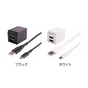 Owltech 超タフUSB Type-Cケーブル付属 AC充電器 ホワイト|ymobileselection