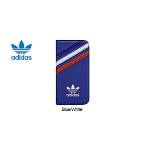 adidas Booklet Case - iP5/5s/5SE Blue/White|ymobileselection