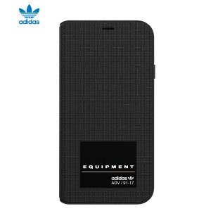 adidas OR-EQT-Booklet Case-iPhone X-Black|ymobileselection