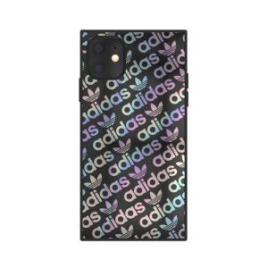 背面はハードタイプ、側面はTPUを使用  iPhone 11 adidas OR SQUARE CA...